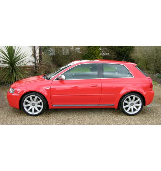 Side windows chrome trim Audi S3 98-03
