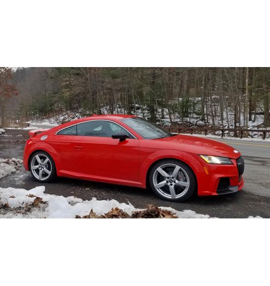 Side windows chrome trim Audi TT Série 3 14-21