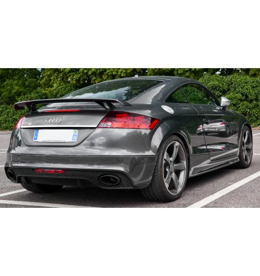 Trunk chrome trim Audi TT Série 3 14-20
