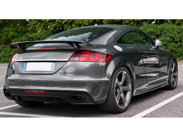 Trunk chrome trim Audi TT Série 3 14-21