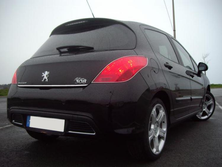Chrom-Zierleiste für Kofferraum Peugeot 308 07-13 & Peugeot 308 CC 09-15