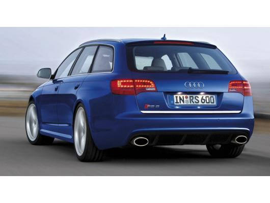 Trunk chrome trim Audi RS6 0819