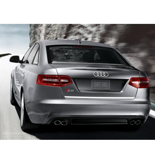 Chrom-Zierleiste für Kofferraum Audi S6 08-20