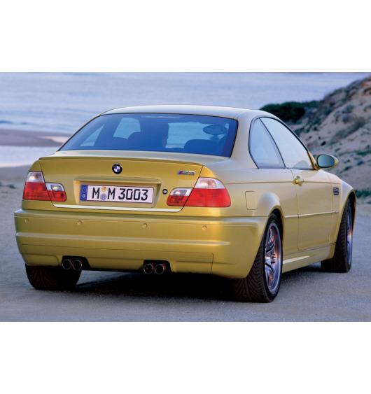 Chrom-Zierleiste für Kofferraum BMW M3 E46 00-06