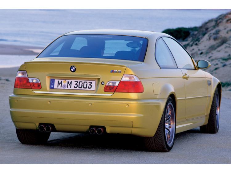 Moldura de maletero cromada BMW M3 E46 00-06