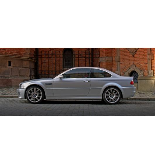 Side windows chrome trim BMW M3 E46 00-06