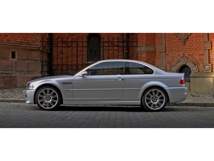 Baguette chromée de contour des vitres latérales BMW M3 E46 00-06
