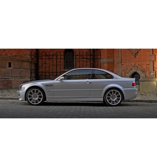 Side windows lower chrome trim BMW M3 E46 00-06