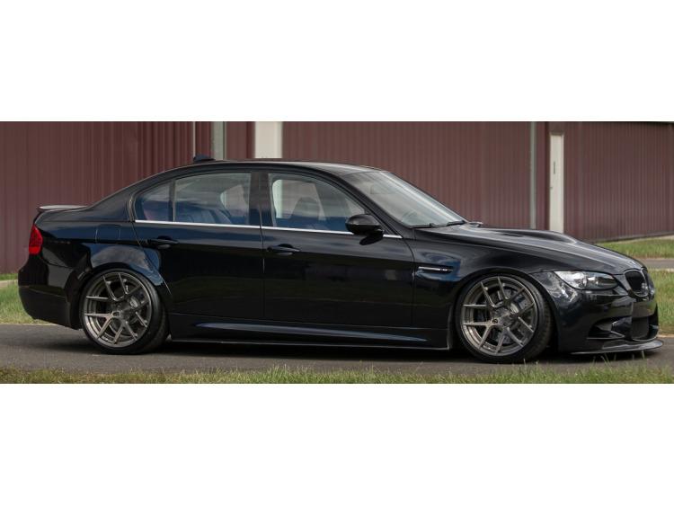 Side windows lower chrome trim BMW M3 E90 Berline 07-08/E90 Berline LCI 08-11/E92 Coupé 07-10/E92 Co