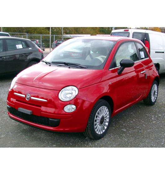 Side windows lower chrome trim Fiat 500 Fiat 500 Break Fiat 500 C Fiat 500 L