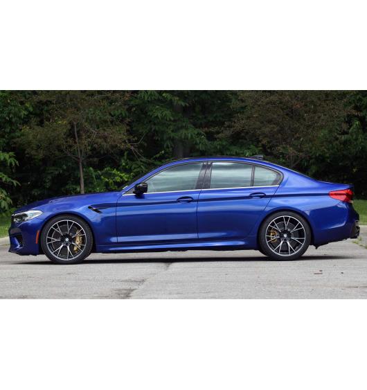Fascia cromata di contorno inferiore dei vetri laterali BMW M5