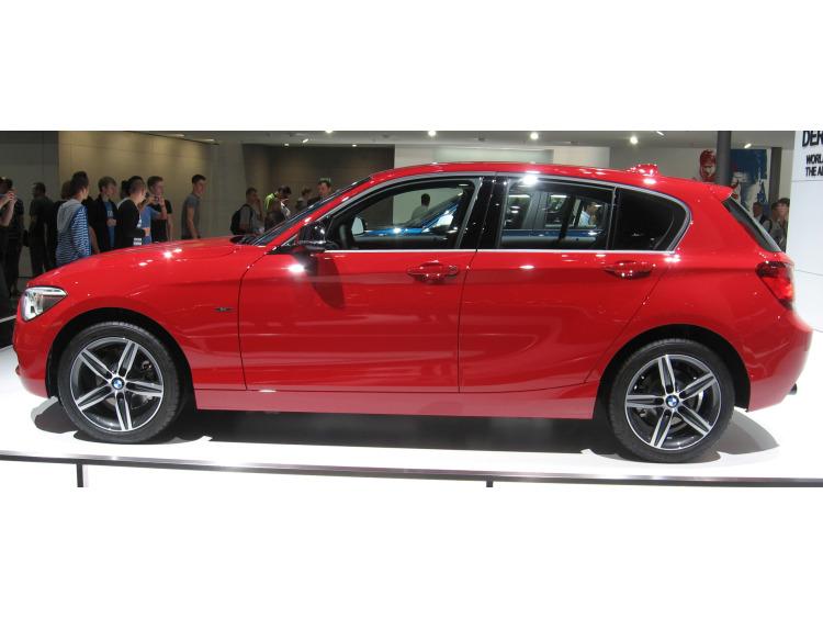 Fascia cromata di contorno inferiore dei vetri laterali BMW Série 1 F20 11-15