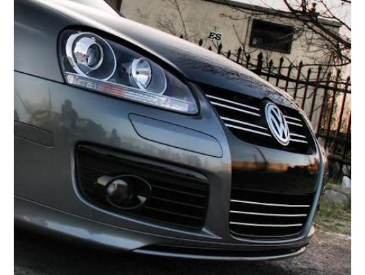 ZierChromleiste für KühlergrillUnterteil VW FoxGolfJettaPhaetonSciroccoSharanTiguan