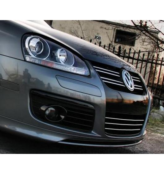 Lower radiator grill chrome trim VW Fox Golf 1/2/3/4/5 GTI/5 Plus/5 SW Jetta/Phaeton/Scirocco/Sharan
