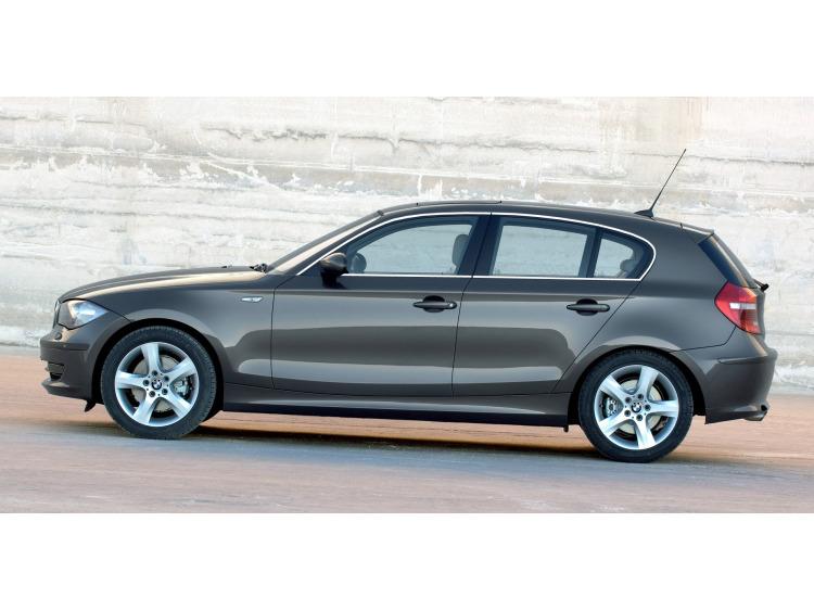 Side windows chrome trim BMW Série 1 E87 LCI 07-11