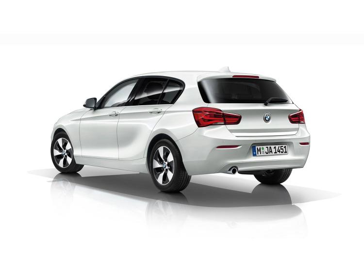Trunk chrome trim BMW Série 1 F21 11-21 3p