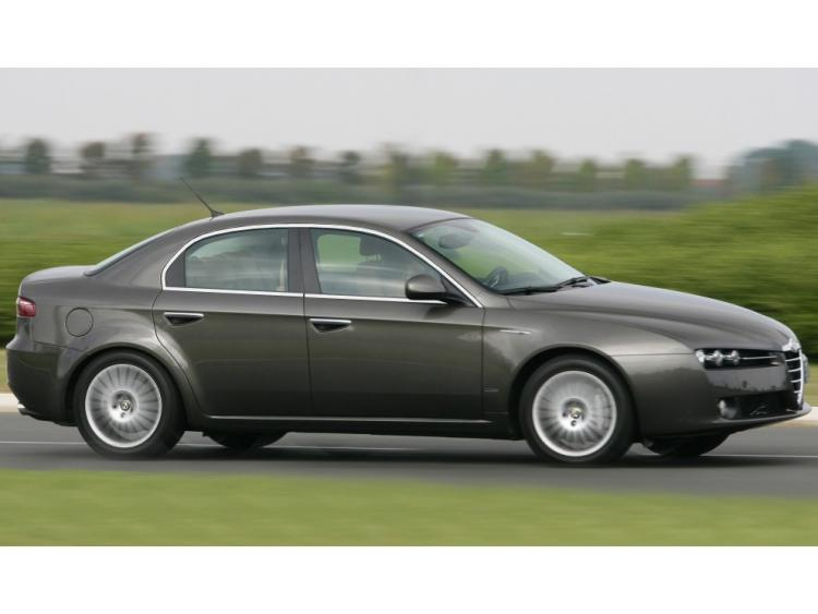 Side windows chrome trim Alfa Romeo 159