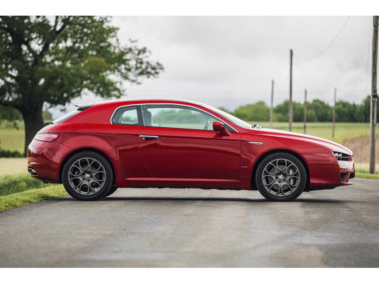 Side windows chrome trim Alfa Romeo Brera