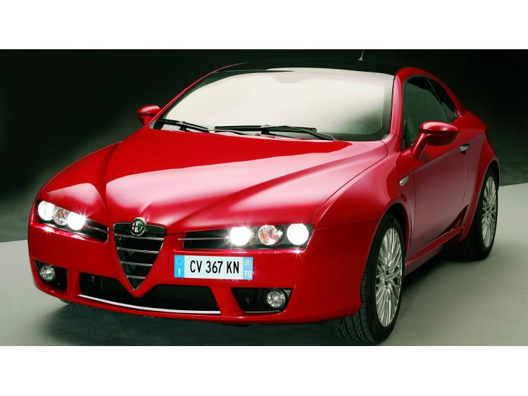 Lower radiator grill chrome trim Alfa Romeo Brera
