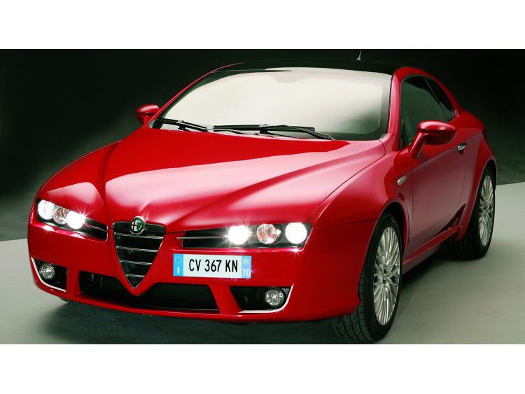 Zier-Chromleiste für Nebelscheinwerfer Alfa Romeo Brera