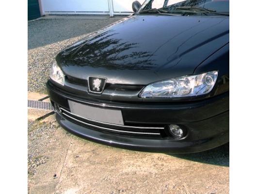Radiator grill chrome moulding trim Peugeot 306 Peugeot 306 CC Peugeot 306 SW