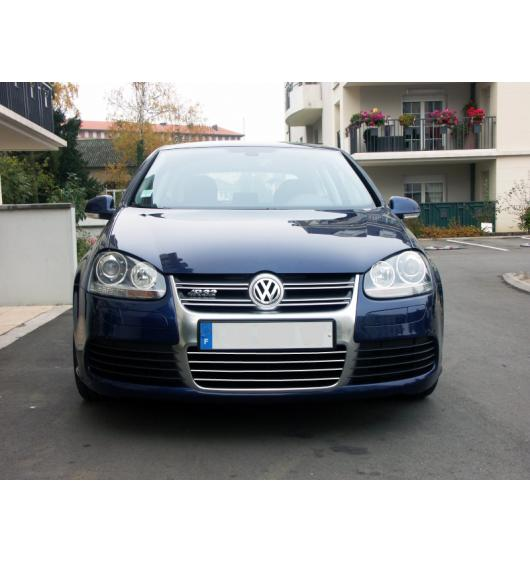 Lower radiator grill chrome trim VW Golf 5 R32