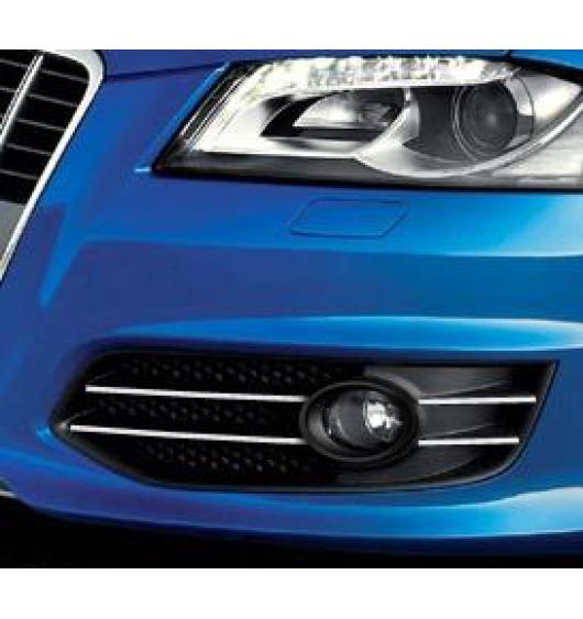 Cornice cromata per fari antinebbia Audi S3 06-20 & Audi S3 sportback 06-20