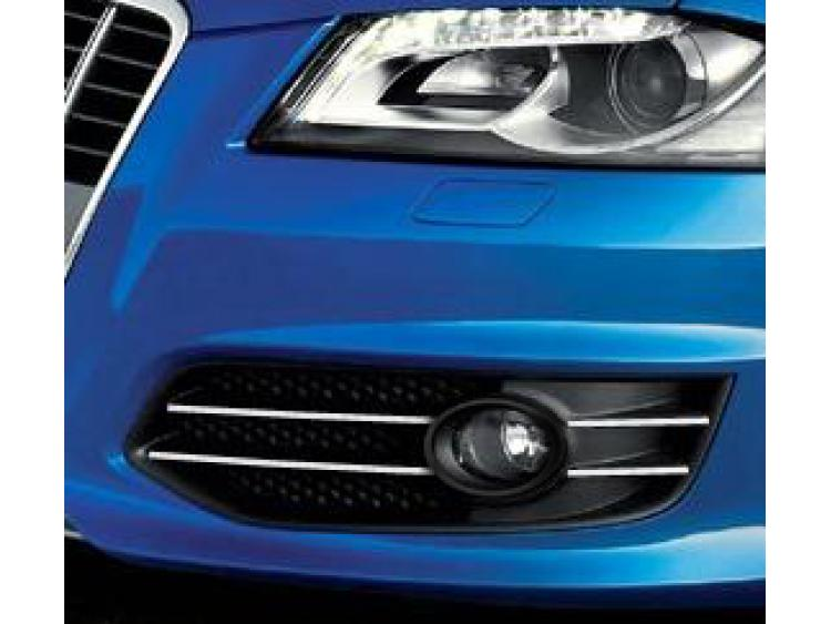 Fog lights chrome trim Audi S3 06-21 & Audi S3 sportback 06-21