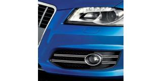 Fog lights dual chrome trim