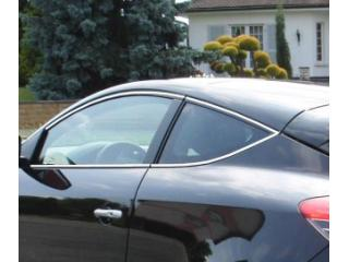 Side windows chrome trim