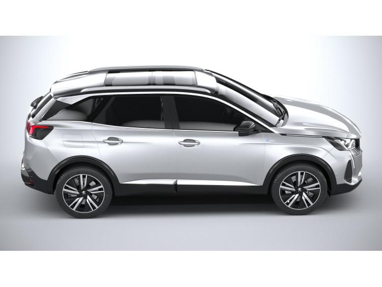 Side windows lower chrome trim Peugeot 3008 II phase 2 (20-21)