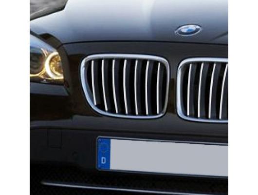 Radiator grill chrome moulding trim BMW X1