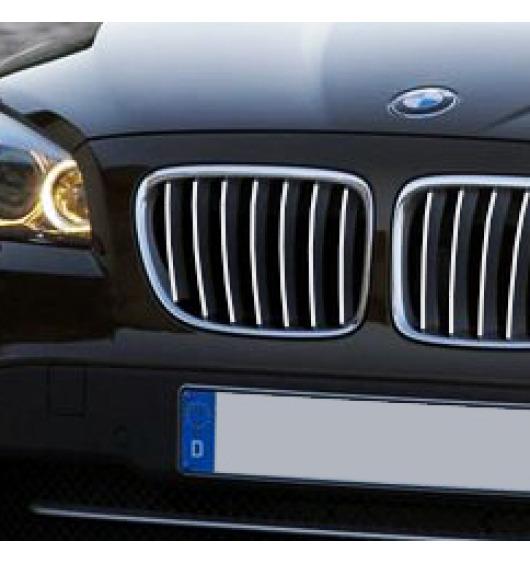 Baguette de calandre chromée BMW X1