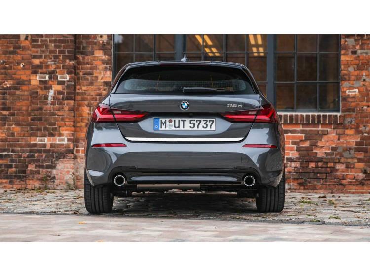 Moldura de maletero cromada BMW Série 1 F40 19-21