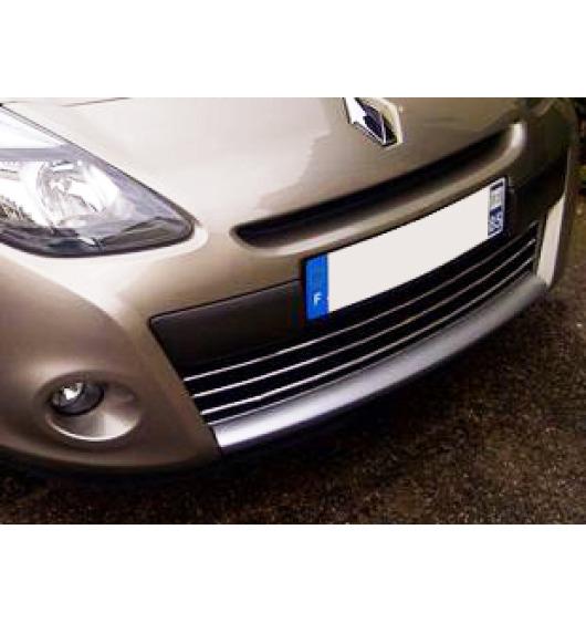 Chromleiste für Kühlergrill Renault Clio 3 phase 2