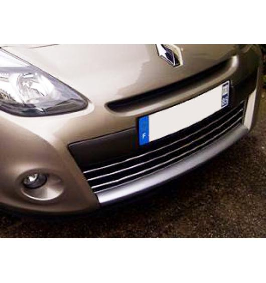 Moldura de calandria cromada Renault Clio 3 phase 2