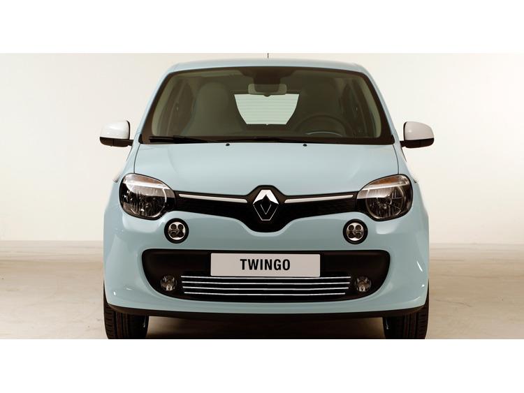 Radiator grill chrome moulding trim Renault Twingo III