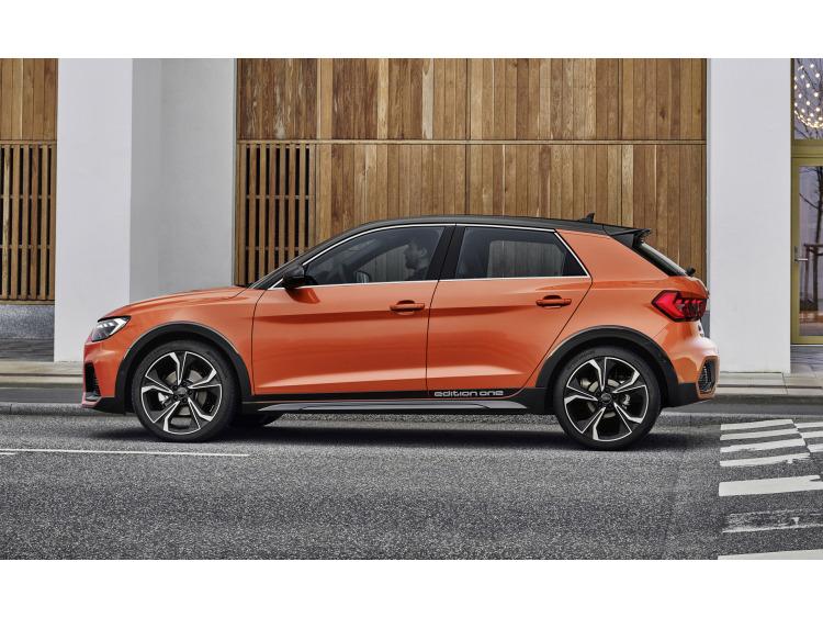 Side windows chrome trim Audi A1 18-21 Sportback