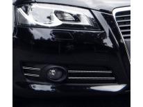 Double baguette chromée pour antibrouillards Audi A3 Série 2 Phase 2 0812