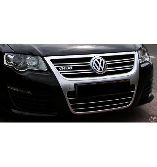 Zier-Chromleiste für Kühlergrill-Unterteil VW Passat 05-10