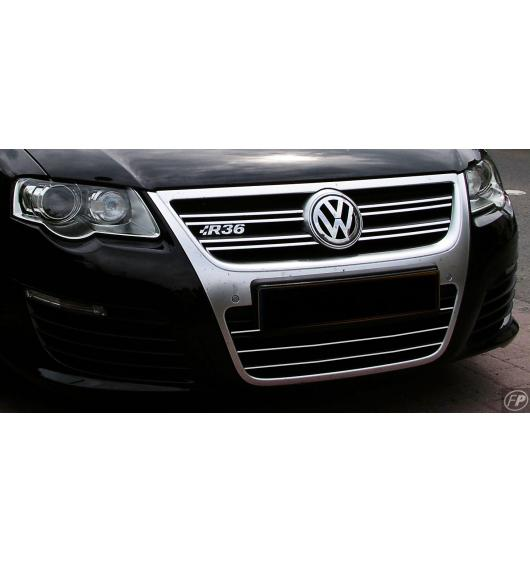 Lower radiator grill chrome trim VW Passat 05-10
