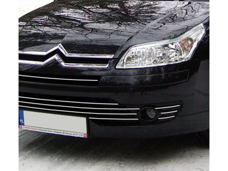Radiator grill chrome moulding trim Citroën C4 04-11 Citroën C4 Berline Citroën C4 Coupé