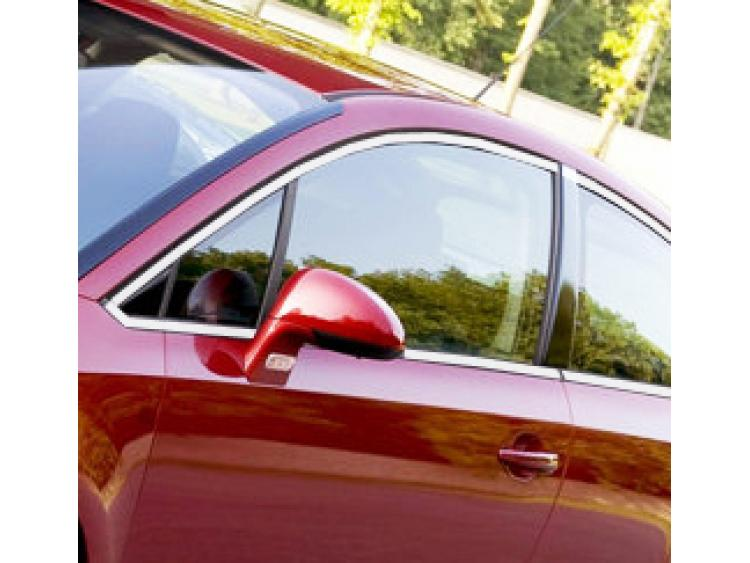 Baguette chromée de contour des vitres latérales Citroën C4 Coupé