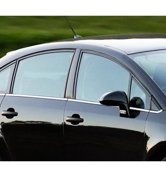 Moldura cromada de contorno inferior de los cristales laterales Citroën C4 Berline