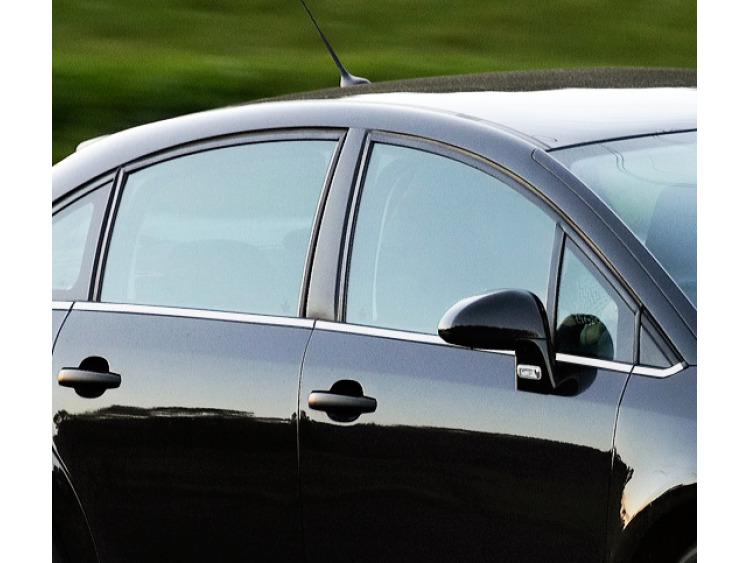 Fascia cromata di contorno inferiore dei vetri laterali Citroën C4 Berline