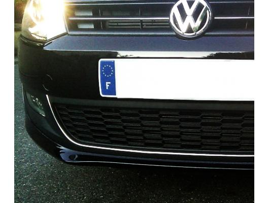 Radiator grill contours chrome trim VW Golf 6 VW Golf 6 Cabriolet VW Polo 6