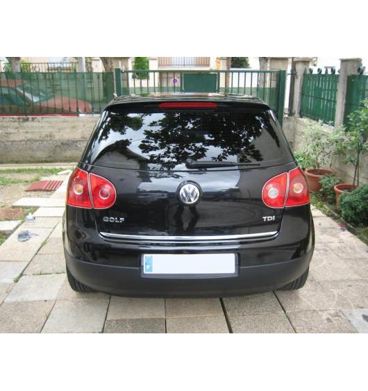 Trunk chrome trim VW Golf 5 VW Golf 5 GT TDI VW Golf 5 GTI VW Golf 5 R32