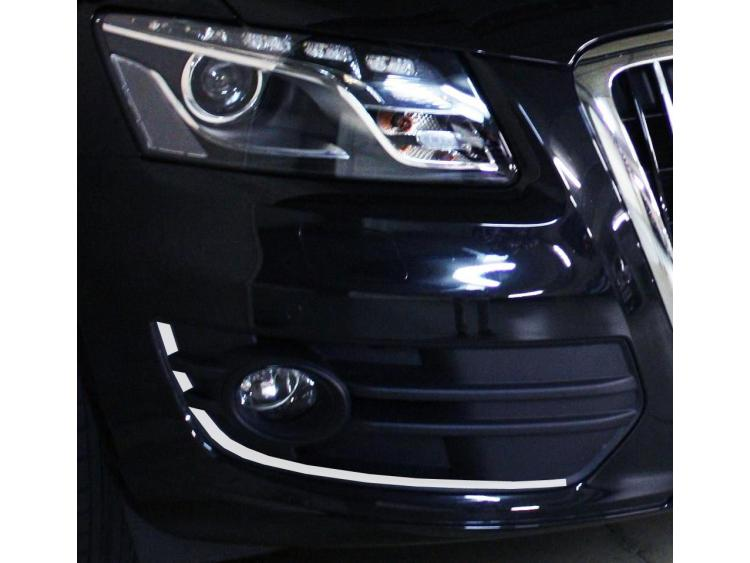 Chrome moulding trim for fog lights contours Audi Q5