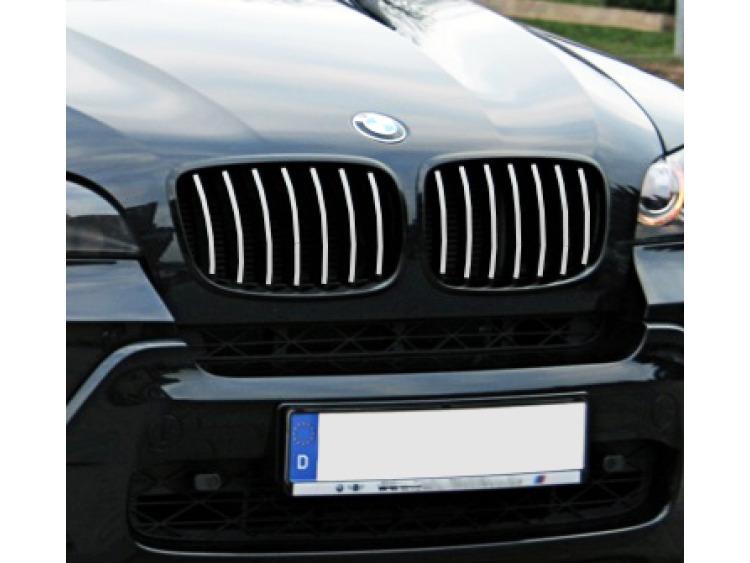 Radiator grill chrome moulding trim BMW X5