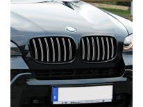 Double baguette de calandre chromée BMW X5